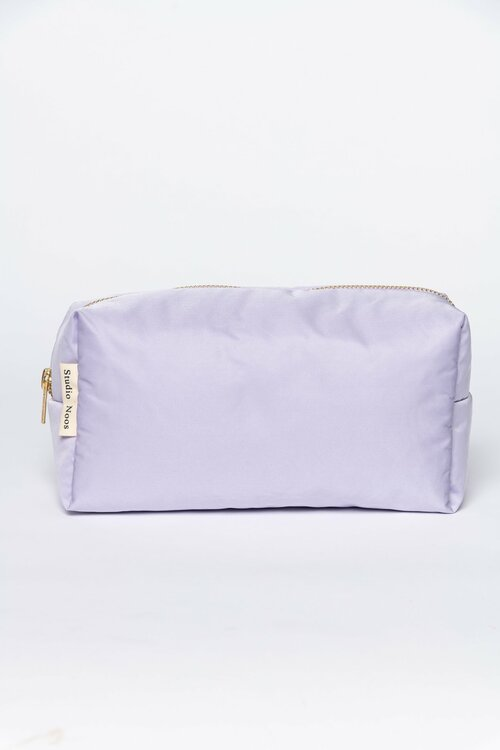 Lilac puffy pouch