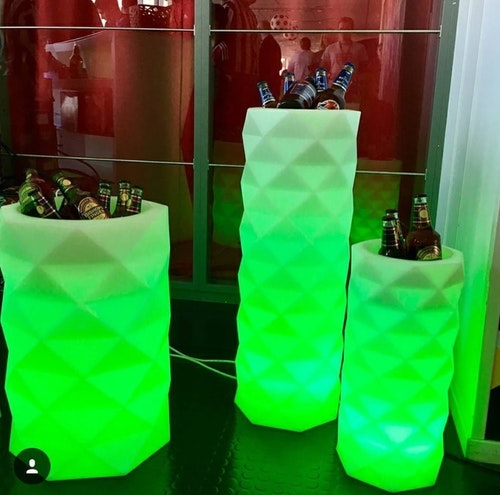 Hyr Vondom Marquis RGB LED Flower Pot - JM Ferrero