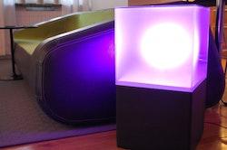 Hyr LightBox RGB LED möbler - Ljuslådor i glas