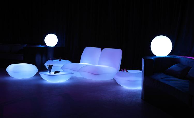 Hyra RGB LED Vondom Pillow Grupp  - Stefano Giovannoni