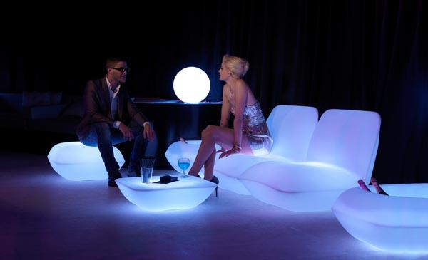 RGB LED Vondom Pillow Grupp  - Stefano Giovannoni