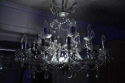 RGB LED Kristallkrona - Uppladdningsbar 90 x 90 cm