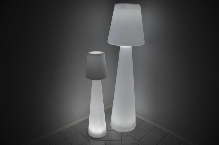 Golvlampa, Lazy RGB LED - Uppladdningsbar