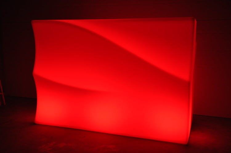 LED bardisk, New Wave 160-320 cm - Uppladdningsbar