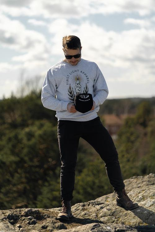 Big Candle Sweatshirt (Unisex)