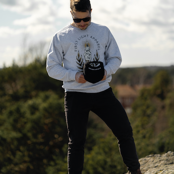Big Candle Sweatshirt (Unisex)