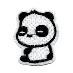Panda sittande