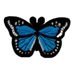 Fjäril blå
