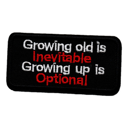Growing old and growing up