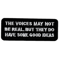 The voices may not be real