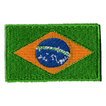 Flagga Brasilien