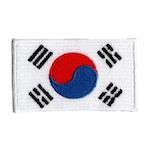 Flagga Sydkorea