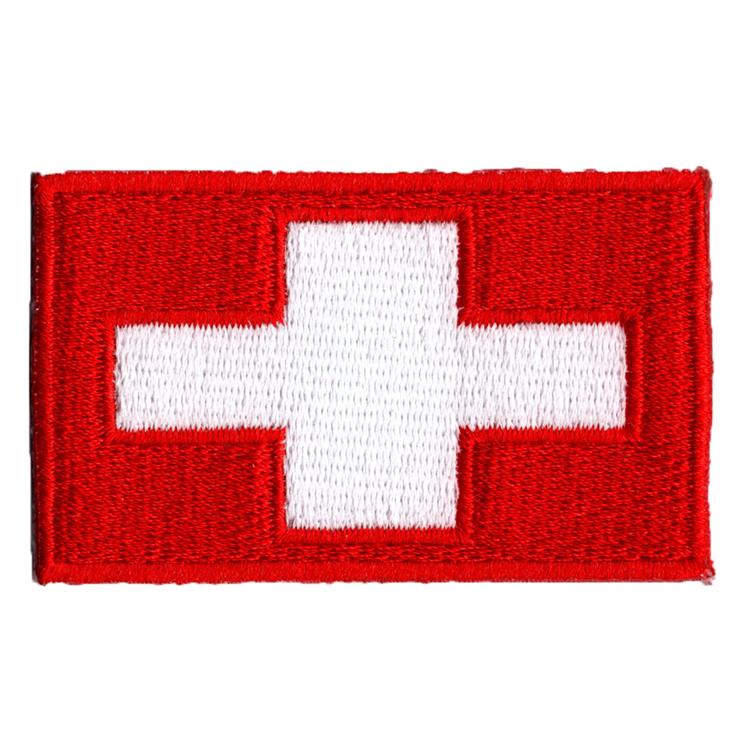 Flagga Schweiz