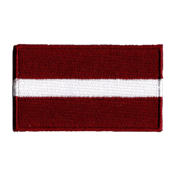 Flagga Lettland