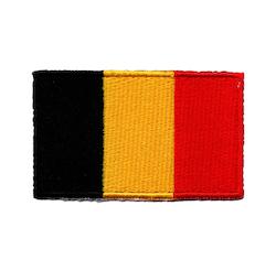 Flagga Belgien