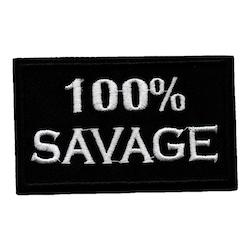 100% SAVAGE