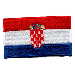 Flagga Kroatien
