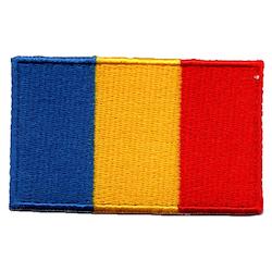 Flagga Rumänien / Chad