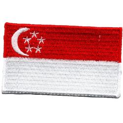 Flagga Singapore