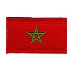 Flagga Marocko