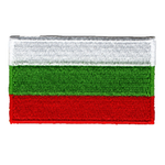 Flagga Bulgarien
