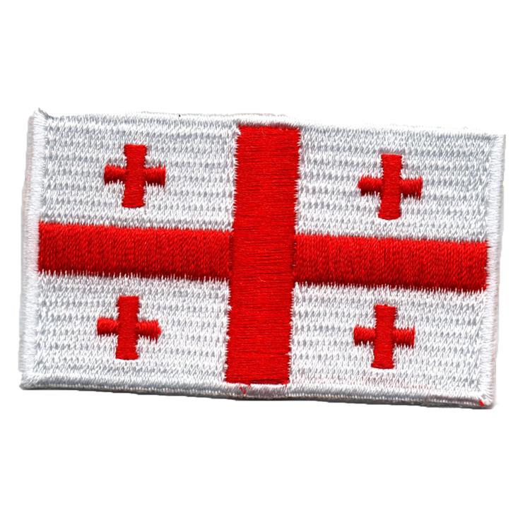 Flagga Georgien