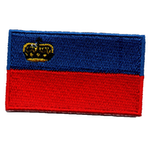 Flagga Lichtenstein