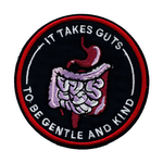 It takes guts to be gentle and kind