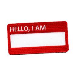 Hello, I am -blank-
