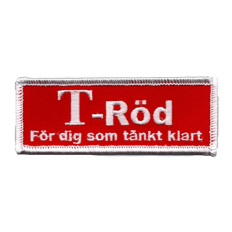 T-röd - För dig som tänkt klart