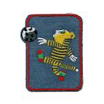 Laglapp - Tiger sparkar boll
