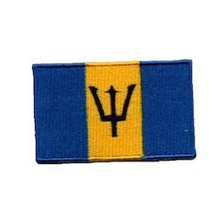 Flagga Barbados