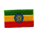 Flagga Etiopien