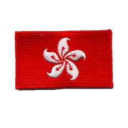 Flagga Hongkong
