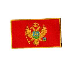 Flagga Montenegro