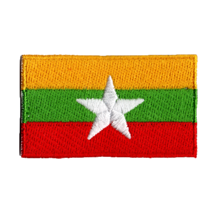 Flagga Myanmar/Burma