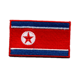 Flagga Nordkorea