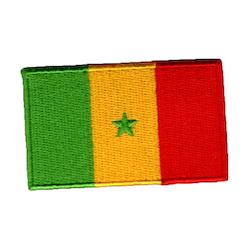 Flagga Senegal