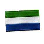 Flagga Sierra Leone