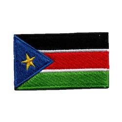 Flagga Sydsudan