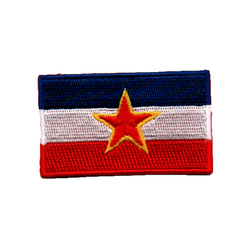 Flagga Jugoslavien