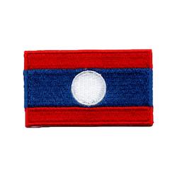 Flagga Laos