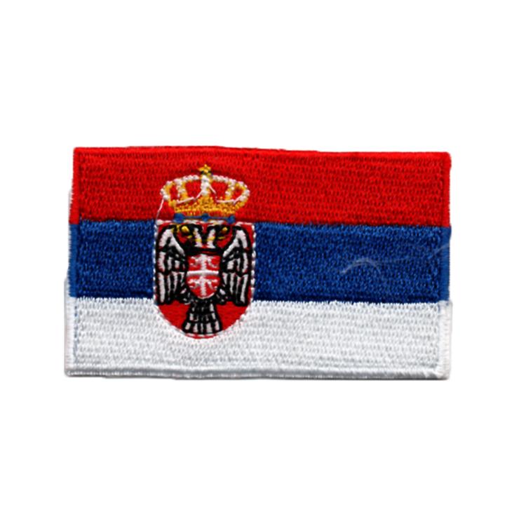 Flagga Serbien