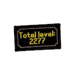 Total lvl: 2277