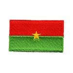 Flagga Burkina Faso