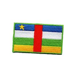 Flagga Centralafrikanska republiken