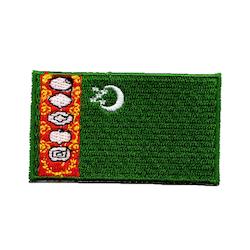Flagga Turkmenistan