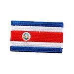 Flagga Costa Rica
