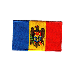 Flagga Moldavien