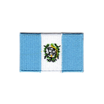 Flagga Guatemala